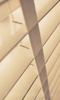19 - Горизонтальные деревянные Лакированные жалюзи