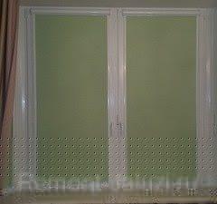 34 - Рулонно касетная штора на пластиковые окна