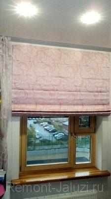 Ремонт римских штор