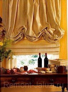 Ремонт романских штор